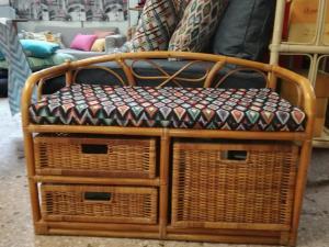 Μαξιλάρι για μπαμπού καναπέ